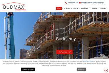BUDMAX Construction - Budowa domów Miedźno