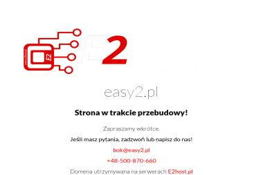 Easy2 Przyjazne Technologie - Strona Internetowa Oława
