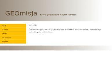 Herman Robert Firma geodezyjna - Geodeta Warszawa