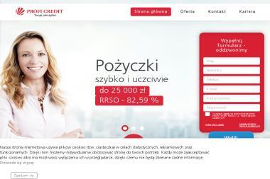 Profi Credit Polska S.A. - Pożyczki bez BIK Katowice