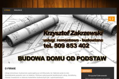 Usługi Remontowo-Budowlane K. Zakrzewski - Budownictwo Augustów