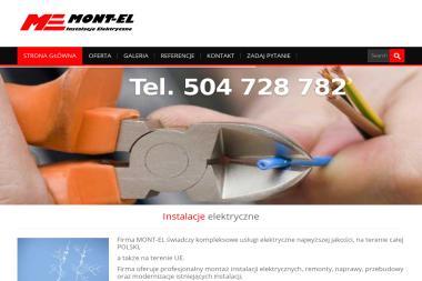 MONT-EL - Usługi Elektryczne Ciechanów