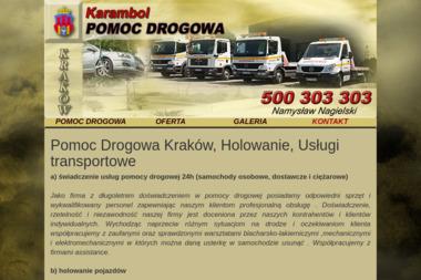 Namysław Nagielski Pomoc drogowa - Pomoc drogowa Kraków