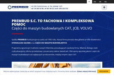 Prembud s.c. - Maszyny budowlane Częstochowa