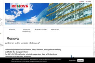 Renova Sprzedaż, wynajem rusztowań - Firmy inżynieryjne Końskie