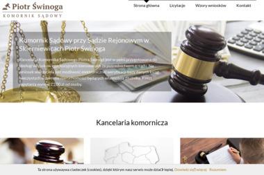 Świnoga Piotr Komornik Sądowy przy Sądzie Rejonowym - Skup długów Skierniewice
