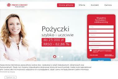 Profi Credit - Pożyczki bez BIK Toruń