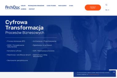 Archidoc - Doradztwo informatyczne Warszawa