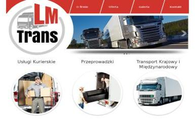 LM-Trans - Transport międzynarodowy do 3,5t Warszawa