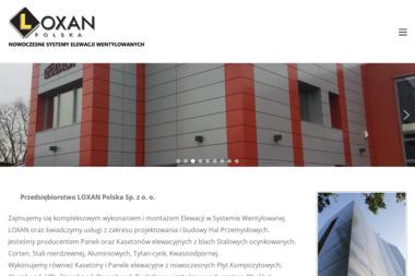 LOXAN POLSKA SP ZOO - Projektowanie konstrukcji stalowych Bochnia
