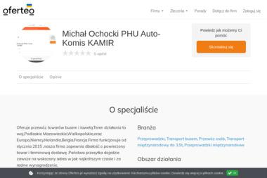 Michał Ochocki PHU Auto-Komis KAMIR - Transport Całopojazdowy Sokoły