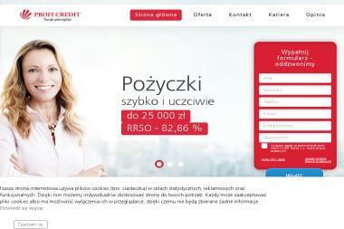 Profi Credit SA - Pożyczki bez BIK Poznań