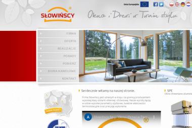 Słowińscy Sp. J. - Producent Okien Aluminiowych Słupca