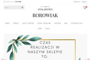 Zakład Usługowy Ireneusz Borowiak - Projektowanie Ogrodu Osieczna