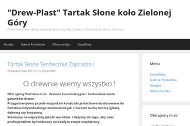 TARTAK Drew-Plast - Więźba Dachowa Słone
