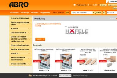 Abro Akcesoria meblowe - Akcesoria Meblowe Warszawa