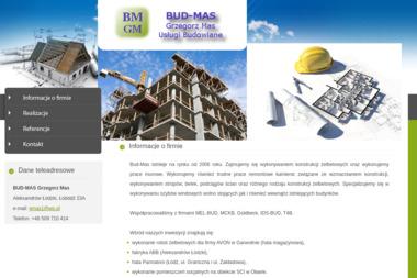 BUD-MAS - Konstrukcje Żelbetowe Aleksandrów Łódzki