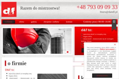 SPÓŁKA D & F SP. Z O.O. - Płyta karton gips Raszyn