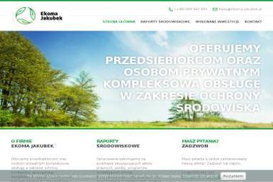Maciej Jakubek EKOMA - Ochrona środowiska Kalisz