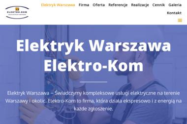 ELEKTRO-KOM Usługi elektryczne i komputerowe - Hurtownia elektryczna Warszawa