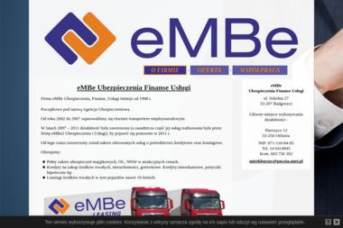 EMBe Ubezpieczenia, Finanse, Usługi - Kredyt hipoteczny Radgoszcz