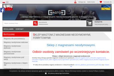 Magtom Sklep internetowy z magnesami neodymowymi - Projekty Sklepu Internetowego Ożarów Mazowiecki