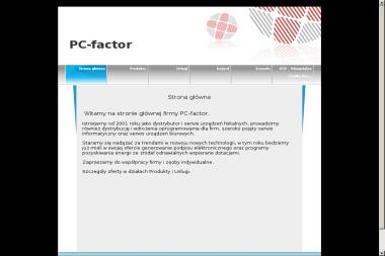 PC Factor - Sejfy Kamień Pomorski