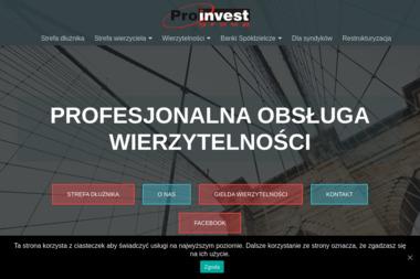 Proinvest Group Sp. z o. o. - Skup długów Gliwice