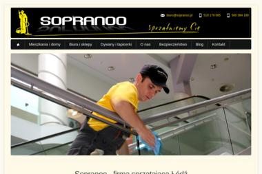 Sopranoo - Pranie Tapicerki Łódź