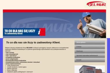 BELMUR Piotr Kuszel - Tynki Maszynowe Grabowiec