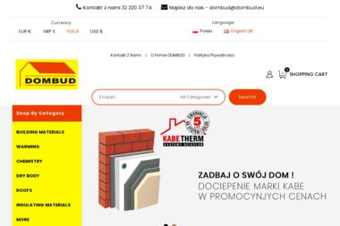 Skład Materiałów Budowlanych DOMBUD s.c. - Stal zbrojeniowa Siemianowice Śląskie