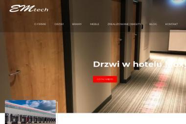 Emtech - Rolety Materiałowe Poznań