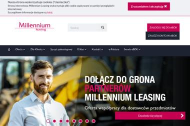 Marek Strzelecki - Millennium Leasing Sp. z o.o. - Leasing maszyn i urządzeń Płock