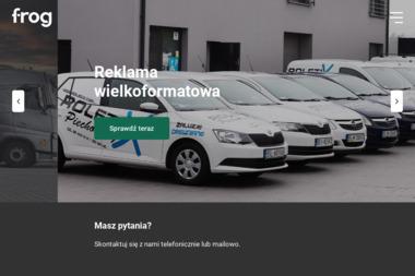 Frog - Pracownia reklamy - Drukarnia Ostrzeszów
