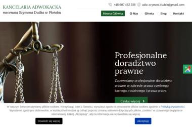 Kancelaria Adwokacka adw. Szymon Dudek - Adwokat Płońsk