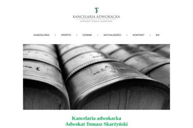Kancelaria Adwokacka Adwokat Tomasz Skarżyński - Usługi Prawne Tychy
