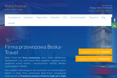 Beska-Travel bus Polska Anglia - Transport Ostrowiec Świętokrzyski
