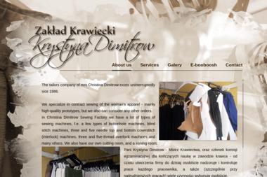 Zakład Krawiecki Krystyna Dimitrow - Szwalnia Bydgoszcz