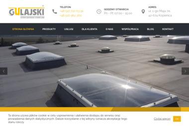 Firma GULAJSKI Rafał Gulajski - Okna PCV Zbrosławice
