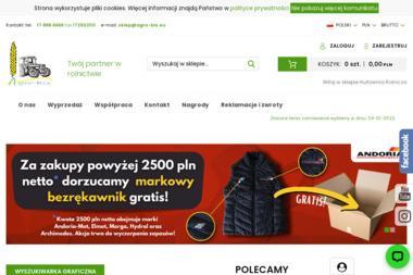 Agro-Bis Barszcz Sp.J., sklep internetowy HurtowniaRolnicza.pl - Części do maszyn rolniczych Mielec
