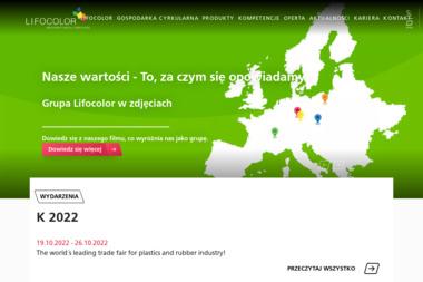 Lifocolor Farbplast sp. z o.o. - Dla przemysłu tworzyw sztucznych Bydgoszcz