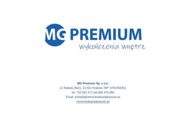 MG Premium Sp. z o.o. - Biznes Plan Kraków
