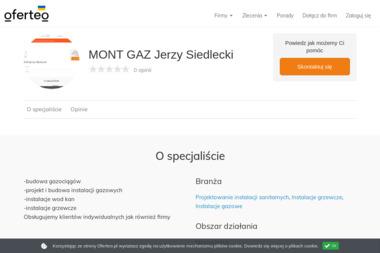 MONT GAZ Jerzy Siedlecki - Instalacje grzewcze Siedlce