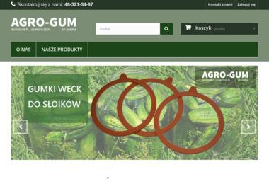 AGRO-GUM A.Dobrzański, P.Dobrzański, A.Szpakowska S.P.J. - Metaloplastyka Jedlińsk