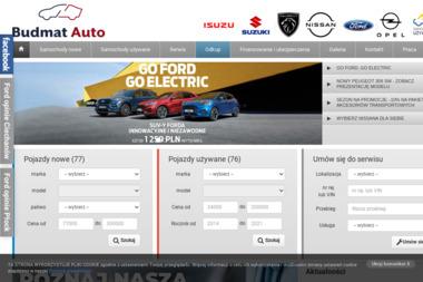 BUDMAT AUTO Sp. z o.o. - Samochody osobowe Płock