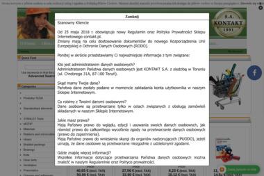 KONTAKT S.A. - Stal zbrojeniowa Toruń