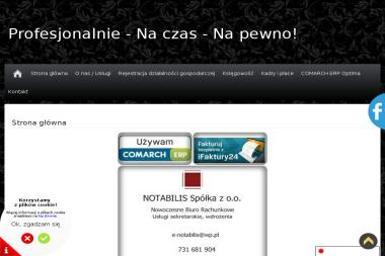 NOTABILIS Sp. z o.o. - Biznes Plan Kawiarni Jaworzno