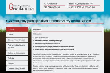"""Pracownia Geologiczna """"Gruntownia"""" P.Gul, K. Gul - Geolog Bydgoszcz"""