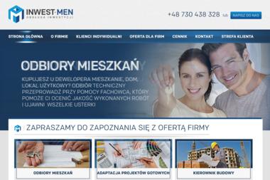 INWEST-MEN Obsługa Inwestycji Jan T. Mendakiewicz - Projekty domów Rzeszów