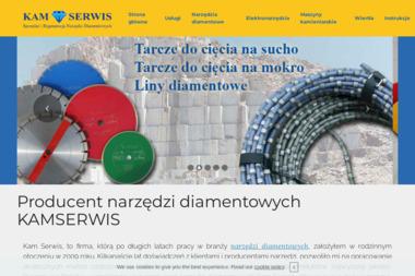"""""""Kam Serwis"""" Sprzedaż i Regeneracja Narzędzi Diamentowych - Narzędzia Tarnobrzeg"""